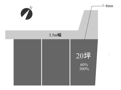 【土地探し6】希望条件を満たした土地/3880万円@渋谷区