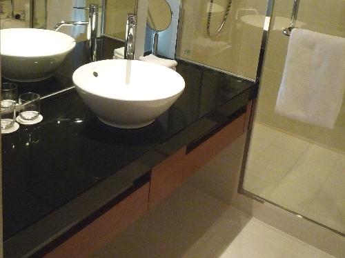 ホテル風サニタリーの参考に。ハイアットリージェンシー東京の洗面&バス