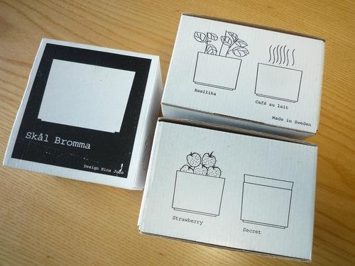 GUSTAVSBERG(グスタフスベリ)のBROMMA(ブロンマ)ボウルを3色まとめて買いました07