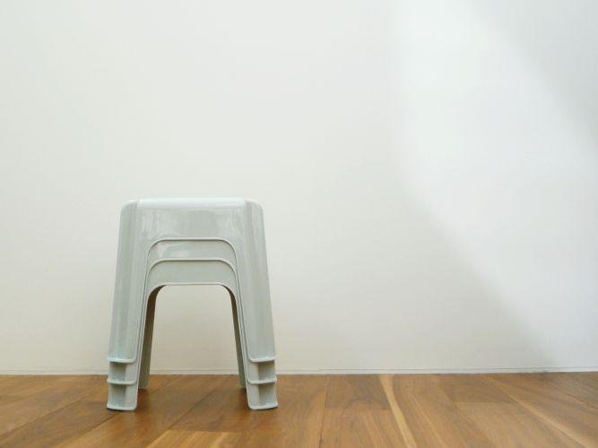 found-muji stool