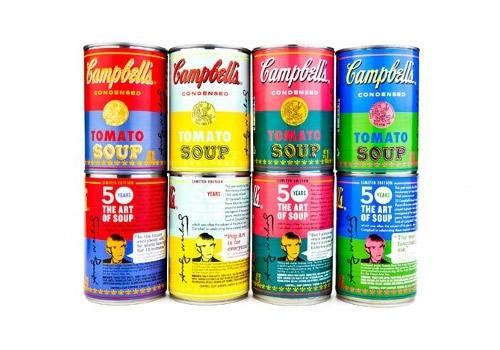 キャンベルスープ50周年記念スペシャルバージョン缶、欲しい!