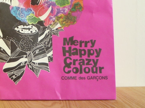 コムデギャルソンのクリスマス企画2010で買ったもの