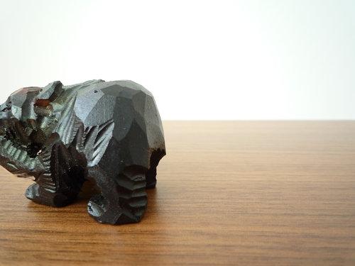 D&DEPARTMENTで木彫りの熊に出会いました