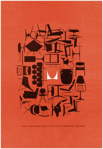 入場無料…ハーマンミラーのポスター展