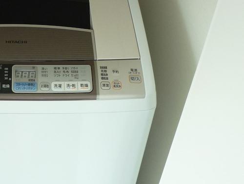 縦型洗濯機の使用感