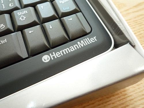 世界1500個限定のハーマンミラーロゴ入りキーボードがヤフオクに