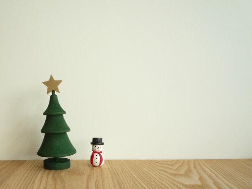 クリスマス仕様の玄関オブジェ、失敗!?