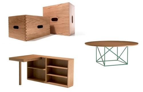 コルビュジエの木製家具、復刻