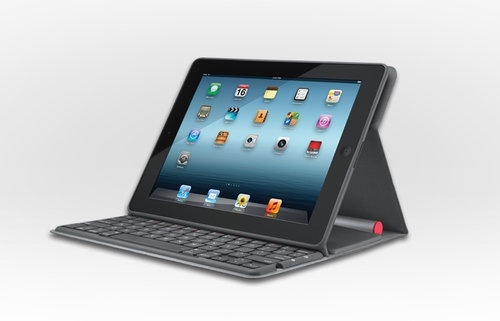 ソーラー充電対応のiPad用キーボードだと…