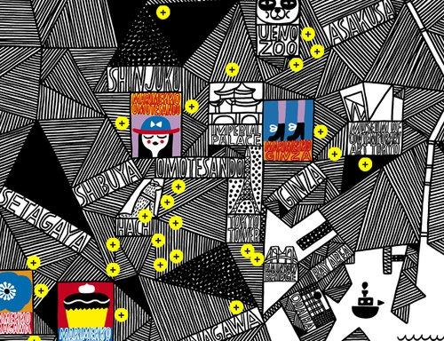 マリメッコ東京マップ2012、公開