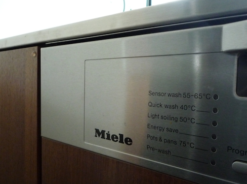 Miele(ミーレ)の食洗機の使用感