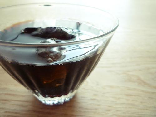 愛用グラス…西山芳浩「しのぎグラス」