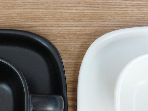 柳宗理のセラミックコーヒーカップ&ソーサーは来客時用