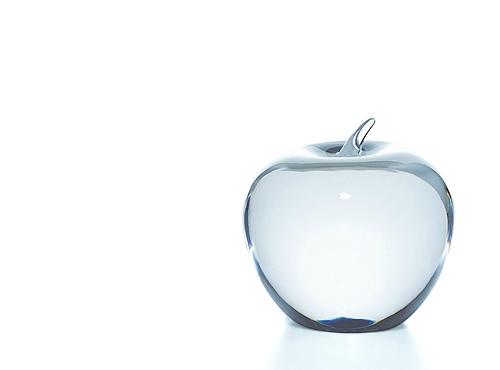 ティファニーのリンゴのペーパーウェイト
