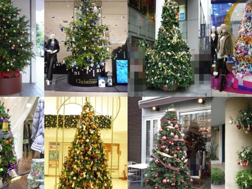 街で見かけた素敵なクリスマスツリーベスト3