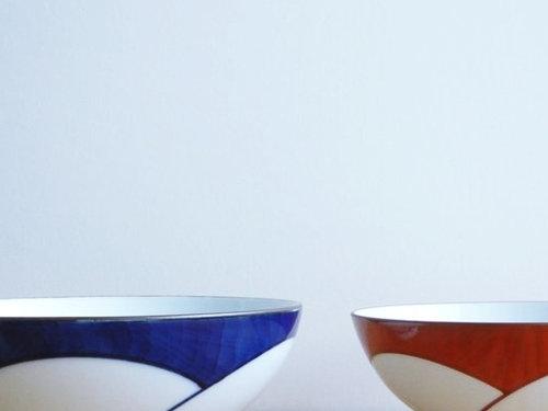 ジャパニーズデザインの傑作…「ねじり梅 めし茶わん」