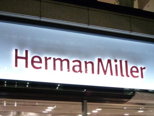 ハーマンミラーストアのオープニングレセプションにお邪魔してきました!