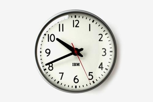 IBM「Standard Issue Clock」、復刻
