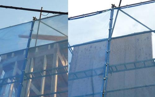 上棟から1ヶ月、壁ができてサッシが入りました…写真で撮ったその記録