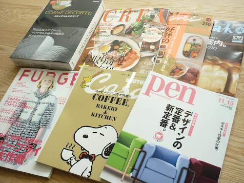 気になるものが多くて…最近買った雑誌たち