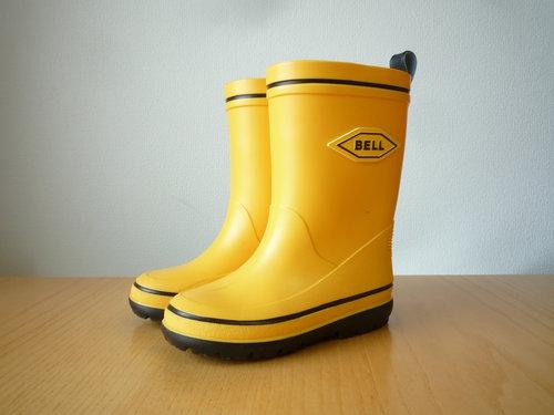 出番のなかった黄色い長靴