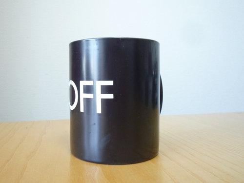 MoMA Design Storeで「ON/OFF マグカップ」を買いました