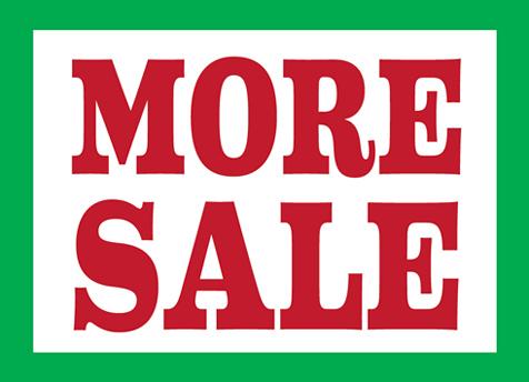 Playmountain(プレイマウンテン)のセール、延長で「More Sale」に突入