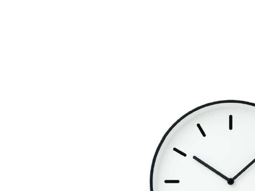 シンプルな壁掛け時計の話…無印良品「駅の時計」とかLemnos「MONO Clock Type B」とか