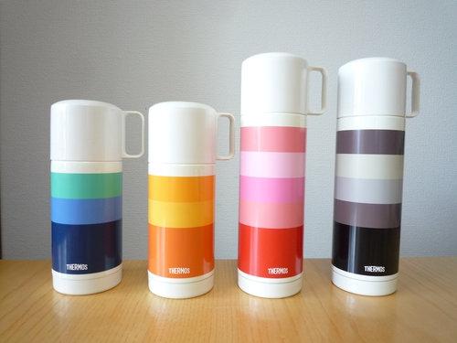 安さにつられ、THERMOS(サーモス)の水筒を全色買い揃えました
