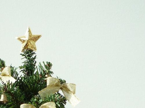クリスマスツリーの決断
