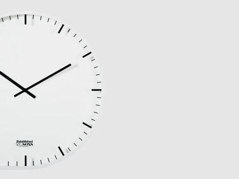 壁掛け時計の候補追加…ESTABLISHED & SONSの「Two Timer」