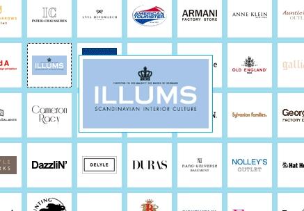 北欧インテリアショップ「ILLUMS」(イルムス)のアウトレットショップがお台場にオープン