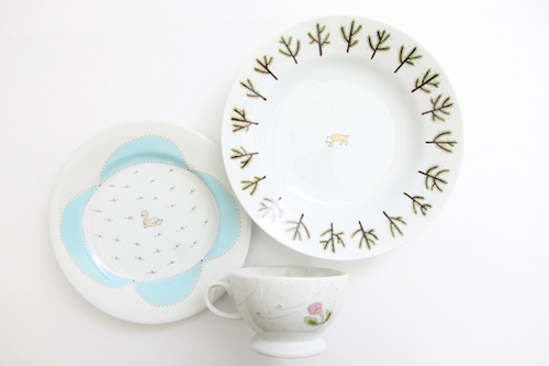 mina perhonen × PASS THE BATON remake tableware