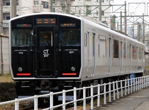デザインがおしゃれでかっこいい電車の壁紙