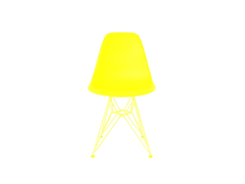 Eames Shell Side Chair DSR YELLOW