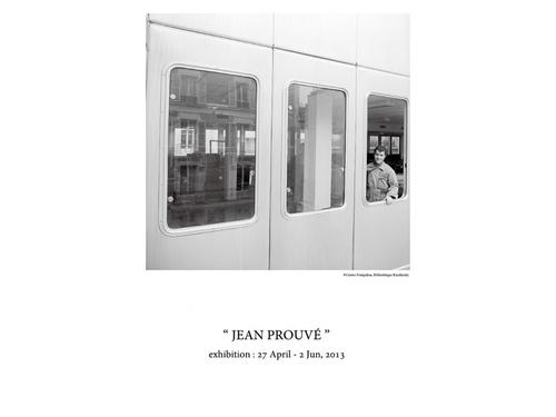 """ジャン・プルーヴェ展覧会「""""JEAN PROUVÉ"""" exhibition」、開催中"""