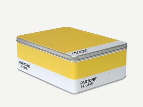 METAL BOX YELLOW