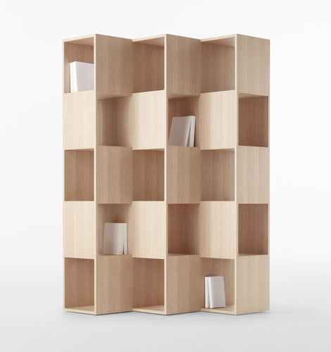 nendo-wooden fold shelf for conde house_003