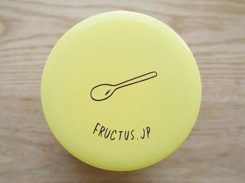 別注カラーのFructus缶 レモンイエロー