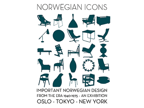 「NORWEGIAN ICONS」展、開催