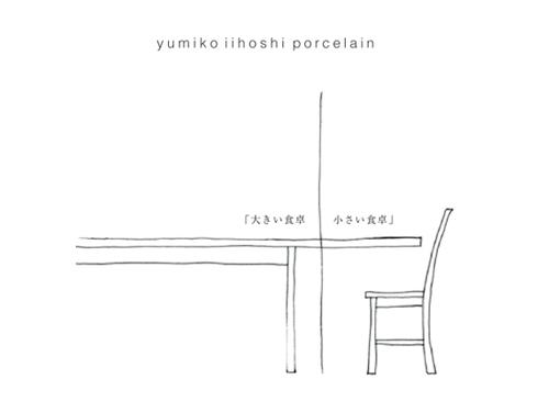イイホシユミコ作品展「大きい食卓 小さい食卓」開催中