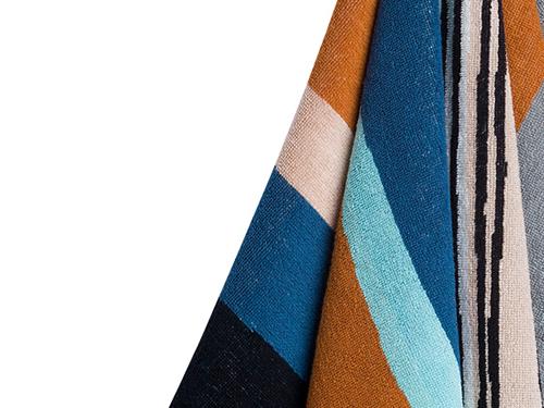 マリメッコの新パターン「Taapeli」柄のタオル、イイ
