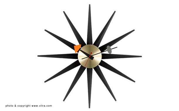 ネルソンクロックに新色「ブラック」×3種、発売