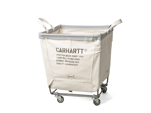 Carhartt x Steele Canvas Laundry Cart_white
