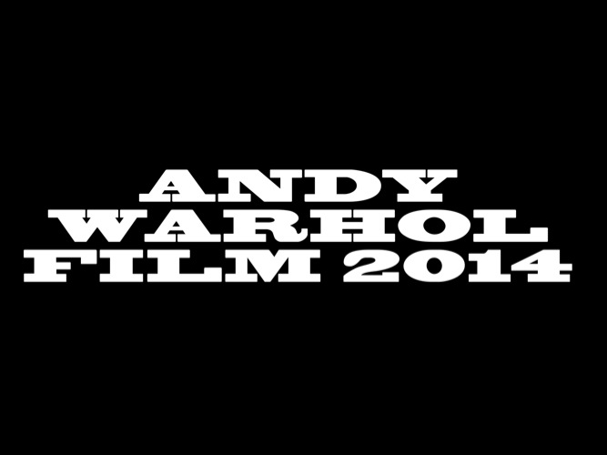 ANDY WARHOL FILM 2014