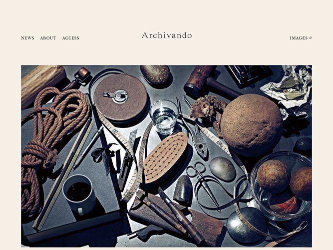 早く行きたいお店…「Archivando」(アルチヴァンド)