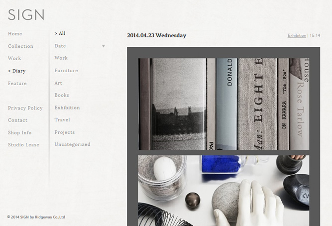 SIGNでデザイン関連古書、ヴィンテージポスター、オブジェを格安放出中