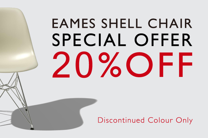 EAMES SHELL CHAIR SPECIAL OFFER
