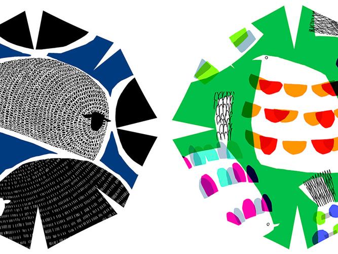 marimekko(マリメッコ)デザイナー・鈴木マサルの傘展