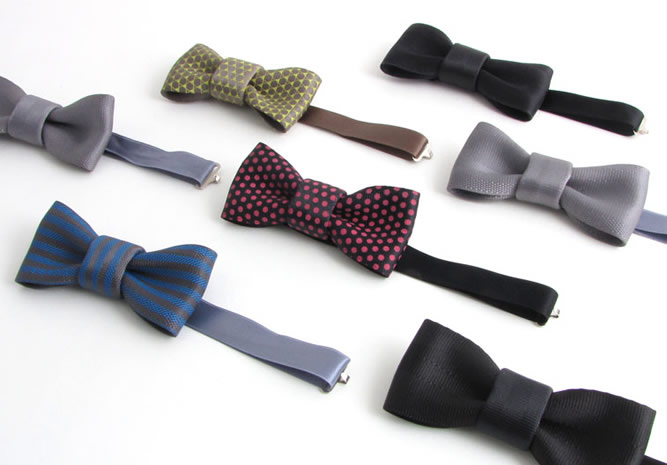 Seat belt bow tie